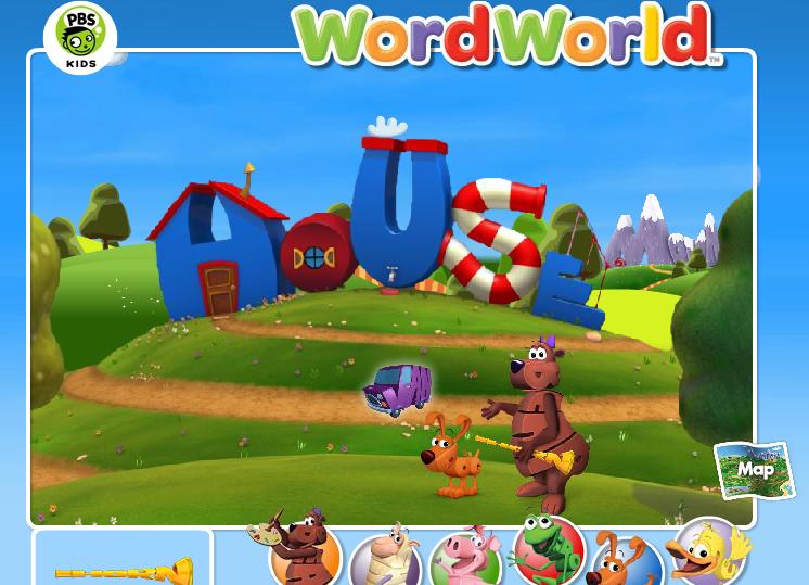 Our son enjoys playing Word World | Christian Homeschooler