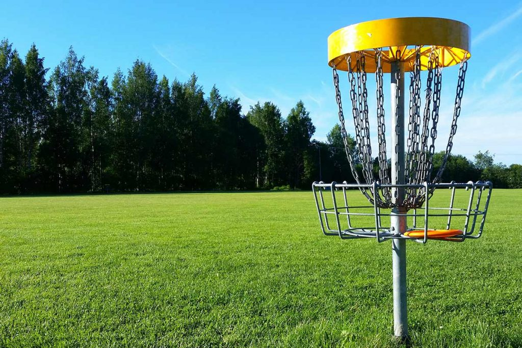 frisbee-golf-goal